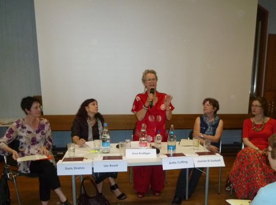 Podium (von links): D.Strahm, L.Roost, U.Krattiger, A.Cotting, J. elSonbati