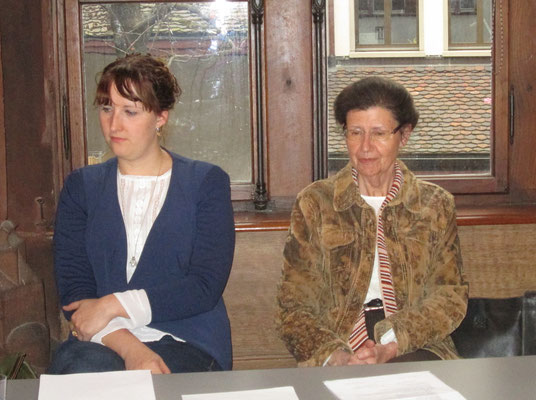 Violet Handtke und Liselotte Kurth