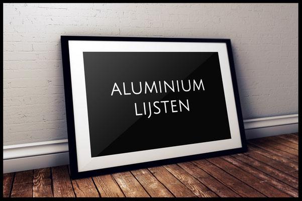Aluminium Wissellijsten • Edwin Lijsten en Inlijsten