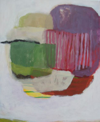 Gefüge 56, 2020, Acryl auf Leinwand, 55 x 45 cm