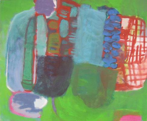 Gefüge 64, 2020, Acryl auf Leinwand, 45 x 55 cm