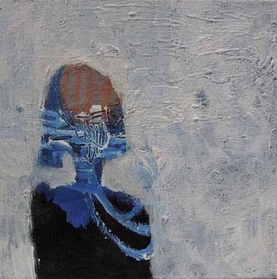 """""""Gestern"""", Acryl auf Leinwand, 20 x 20 cm"""