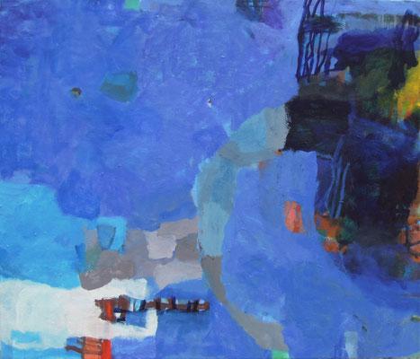 "Gefüge 3"", 2016, Acryl auf Leinwand, 60 x 70 cm"