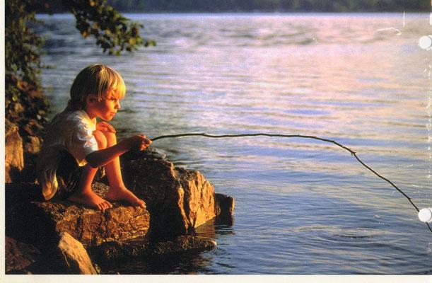 pecher au lac d'aiguebelette
