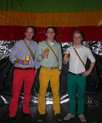 GRÜN - GOLD - ROT
