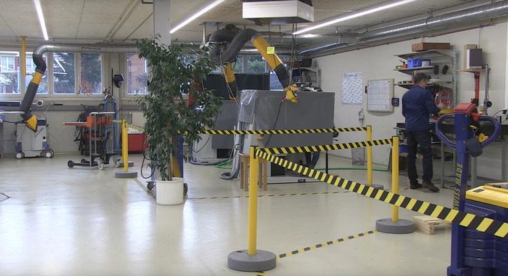 Laser Maag Herisau Präzisions Laser Schweissen - Produktionshalle