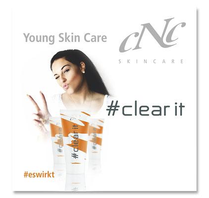 #clear it