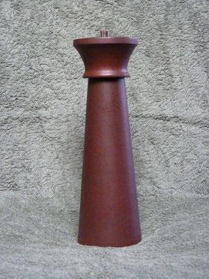 Stahlwerk / Nussbaum gebeizt,     ca. 25 cm,     CHF 110.-