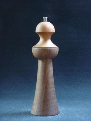 Stahlwerk / Kirsch- / Nussbaum,     für Pfeffer,     ca. 25 cm,     Lieferbar,   CHF 100.-