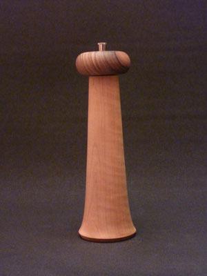 Stahlwerk / Apfel-/Nussbaum,    für Pfeffer,     ca. 25 cm,     CHF 95.-