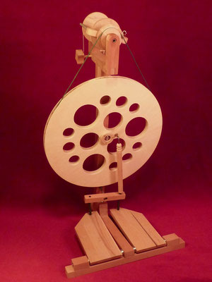 Lendrum-inspiriertes Spinnrad     Prototyp     unverkäuflich