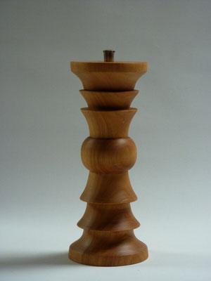 Stahlwerk Titan-beschichtet / Kirschbaum,     für Salz,     ca. 20 cm,     CHF 110.-