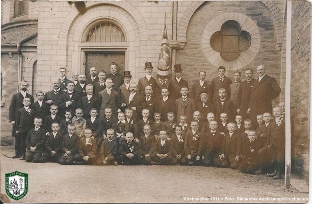 Kirchenchor 1911 // Foto: Bildarchiv Adelskamp/Kirschbaum