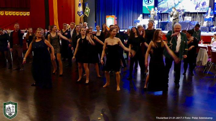 Tanzeinlage (Foto: Peter Adelskamp)