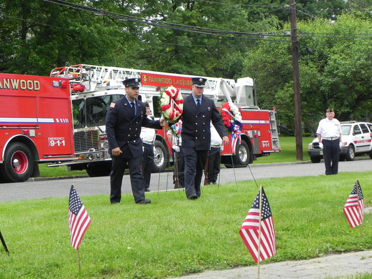 2018 Memorial Wreath Laying Ceremony - Fanwood Library