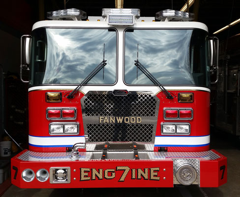 Engine 7 in its new home