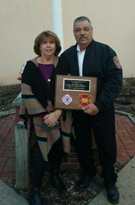 Chief Piccola with his wife Rose