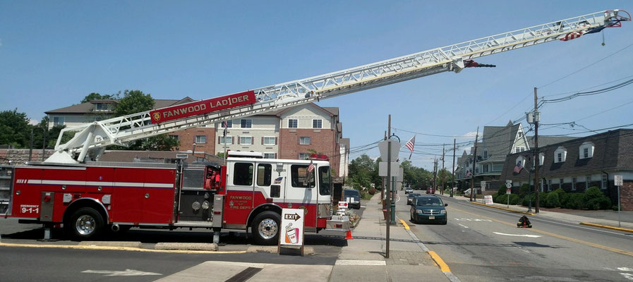 Ladder 1 at Martine and South Ave