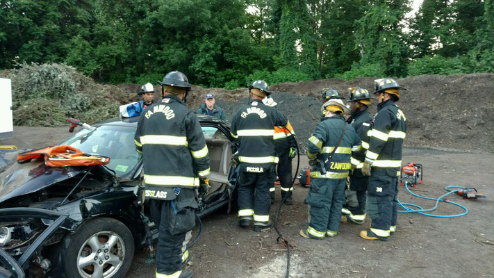 Extrication Drill - Fanwood Recycling Center