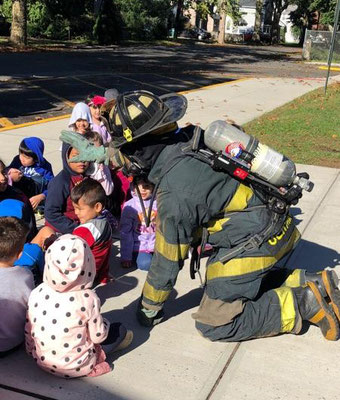 Fire Safety lesson at School 1