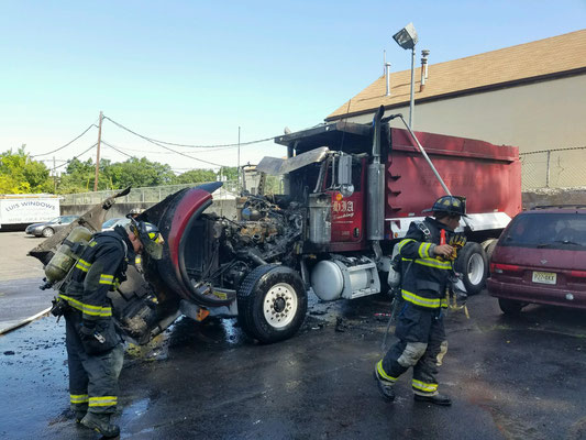 Truck Fire - South Avenue