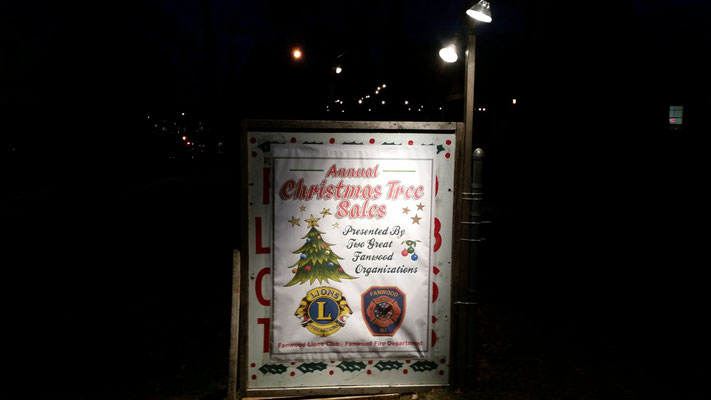 LaGrande Park Fire Dept/Lions Club Christmas Tree Sale