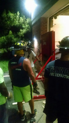 Forcible Entry Drill - Watchung Fire House