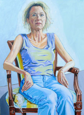 Gaela, (Portrait of Gaela Erwin), Oil on Canvas, 48 x 36 inches, 2013