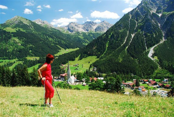 Wandern in Mittelberg