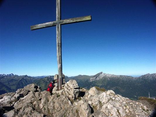 Gipfelkreuz Kanzelwand