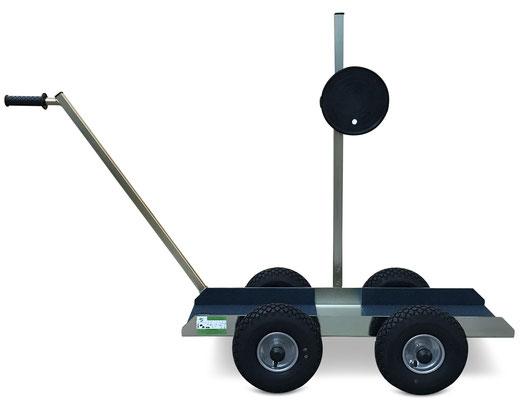 TS 500 Air Tandem Glastransportwagen mit Wood´s Powr-Grip Vakuum Handsauger bis 500 kg Tragkraft transportsolution Plattentransportwagen, Glaswagen, Glastransportwagen, Glas-Transportwagen, Glas, Transportwagen, Transporthilfe, Scheibenwagen, Plattenwagen