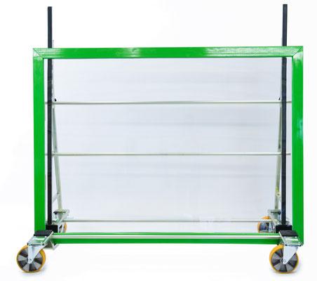 TSL 800 Glastransportwagen bis 800 kg Traglast ausziehbar transportsolution Polyurethanräder Baustelle Montage Glasscheibe Plattentransportwagen, Glaswagen, Glastransportwagen, Glas-Transportwagen, Glas, Transportwagen, Transporthilfe, Scheibenwagen