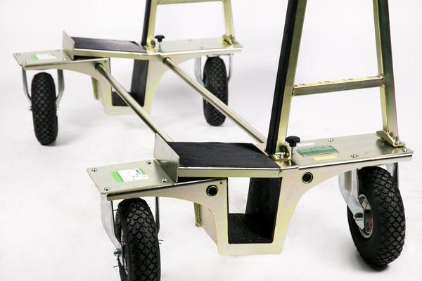 Verbreiterungsaufsatz für Glastransportwagen transportsolution