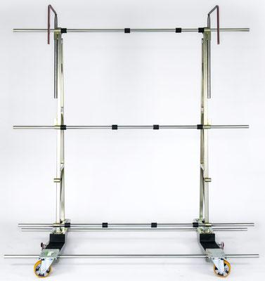 Glastransportwagen TSF 1000 bis 1000 kg Traglast Fenstertransportgestell Glastransportgestell Baustelle