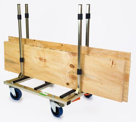 TS 500 Flexi Trolley Transporttechnik Glastransportwagen Transportwagen Transporthilfe bis 500 kg Tragkraft transportsolution Plattentransportwagen, Glaswagen, Glastransportwagen, Glas-Transportwagen, Glas, Transportwagen, Transporthilfe, Scheibenwagen