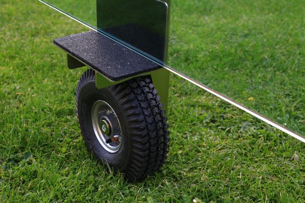 TS ERW 250 Air Einradwagen Glastransportwagen - bis 250 kg Tragkraft transportsolution Baustelle