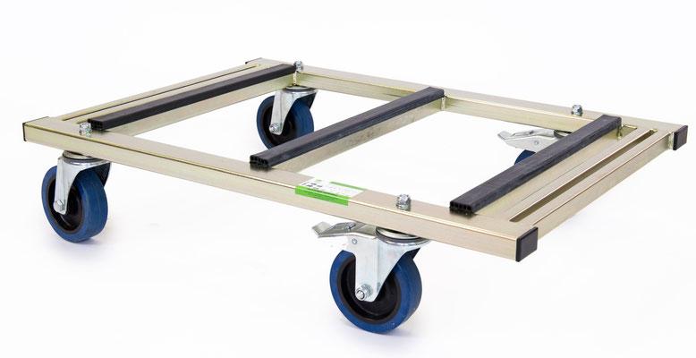 TS 500 Flexi Trolley Transporttechnik Glastransportwagen Transportwagen Transporthilfe bis 500 kg Tragkraft transportsolution