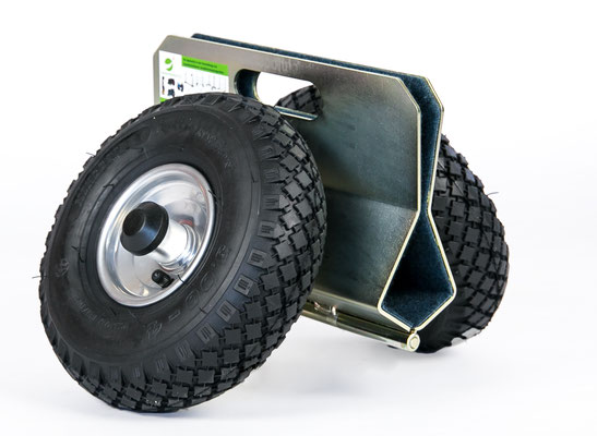 TSK 300 Air Plattenroller mit Klemmbacken Klemmroller Luftbereift transportsolution Glastransportwagen