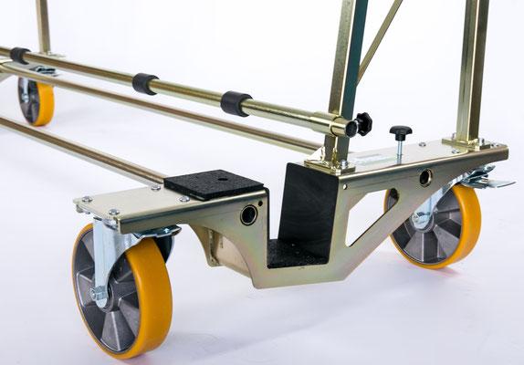 TSL 800 Glastransportwagen bis 800 kg Traglast ausziehbar transportsolution