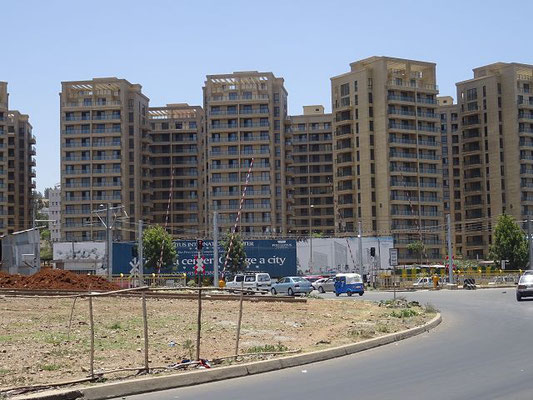 Wohnungsbau an der Stadtperipherie