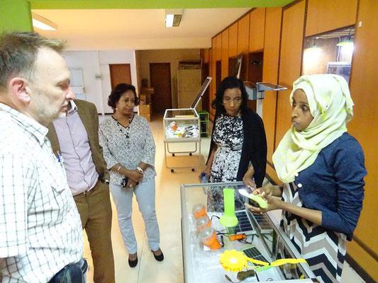 Besuch bei Solar 23 in Addis Abeba