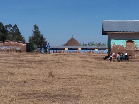 Yanbeli School während den Ferien