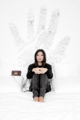 Photographe: Tim Douet pour Lyon Capitale - Modèle: Sarah
