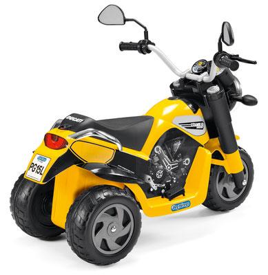 scrambler ducati elektromotorrad spielfahrzeug hinten