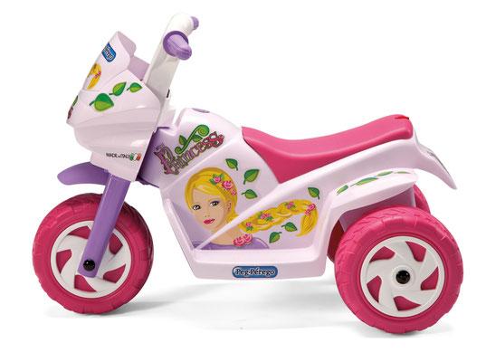 mini princess elektromotorrad spielfahrzeug seite