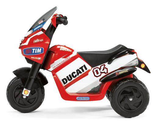 ducati desmosedici motorrad spielfahrzeug seitenansicht