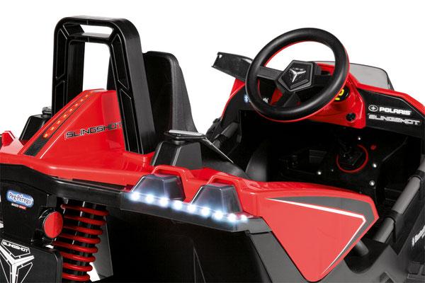polaris slingshot 12v quad fernsteuerung elektrofahrzeug rc detail blinker