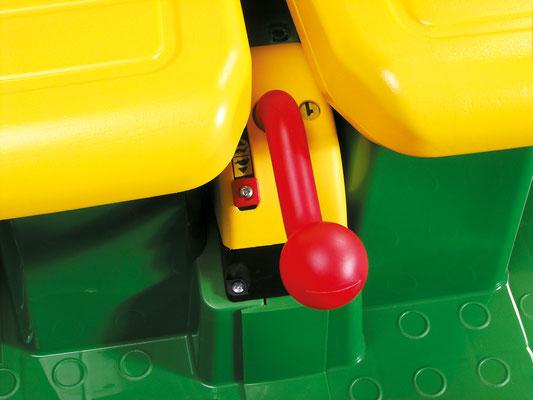 john deere gator hpx spielfahrzeug elektrofahrzeug detail anhängerkupplung