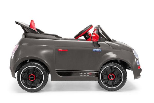 fiat 500 s spielfahrzeug elektroauto seitenansicht