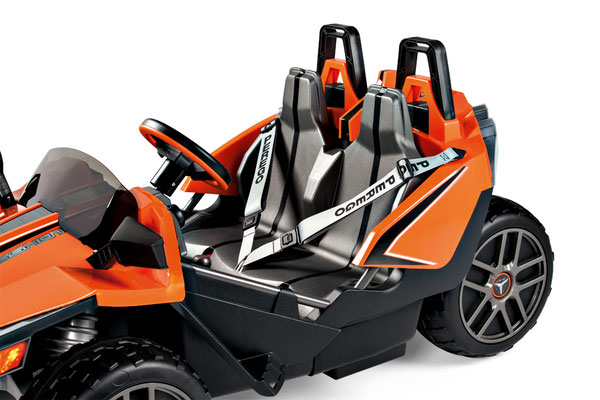 polaris slingshot quad 12v spielfahrzeug elektrofahrzeug detail sitze